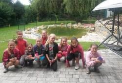 Prázdniny u trenérů :-) Kostelec 11.-13.8.2014