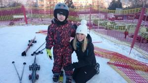 Výuka lyže 2016