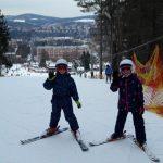 Výuka na lyžích 2017