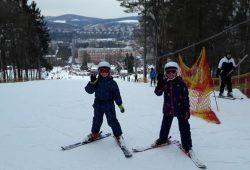 Výuka lyžování úspěšně zahájena :-)