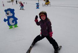 Výuka na lyžích