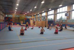 Trénink gymnastiky