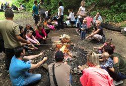 Rozlučkový táborák pro děti i rodiče