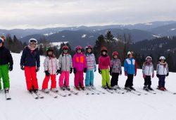 5. Víkend na lyžích